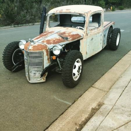 1936 mack cummins twin turbo rat rod truck. Black Bedroom Furniture Sets. Home Design Ideas