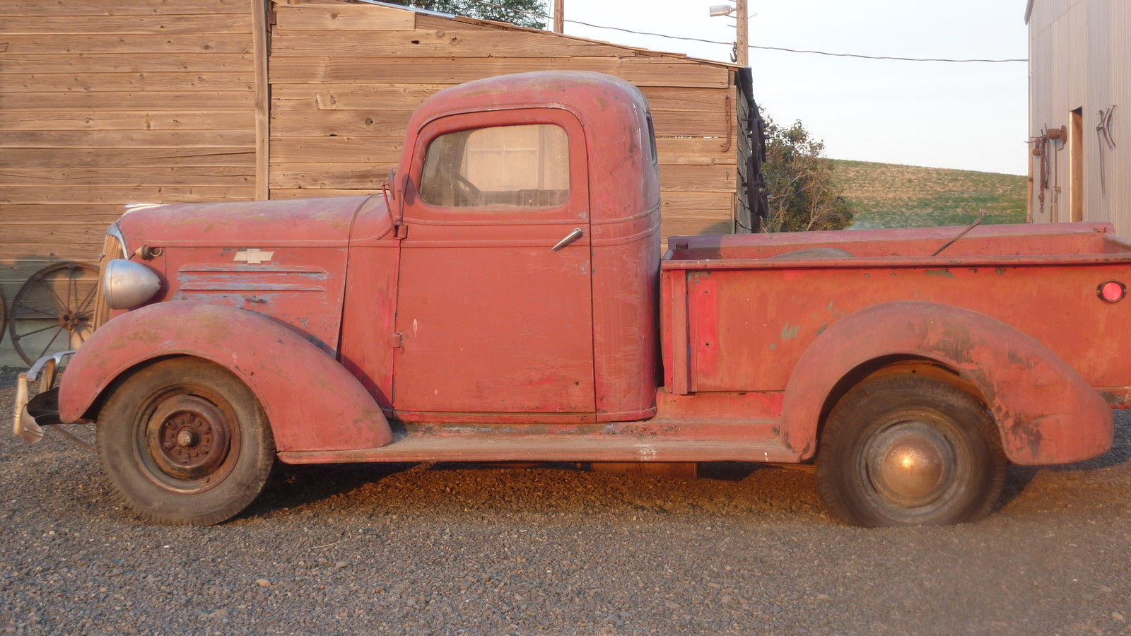 1937 Chevy Pickup Antique Truck Vintage Barn Find For Sale In Touchet Washington United States