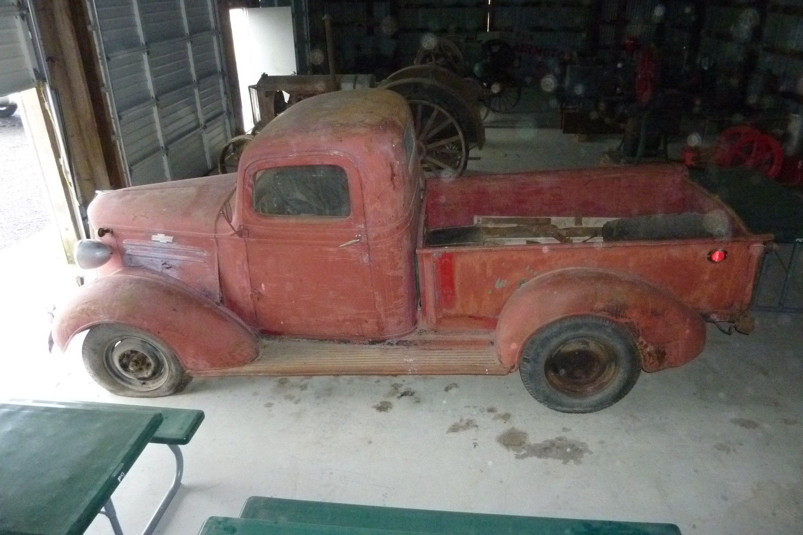 1937 Chevy Pickup Antique Truck Vintage Barn Find For In Touchet Washington United States