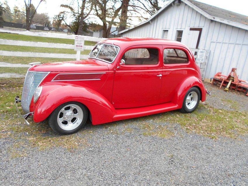 1937 ford 2 door humpback sedan all steel body 8 448 total for 1937 ford 2 door sedan for sale