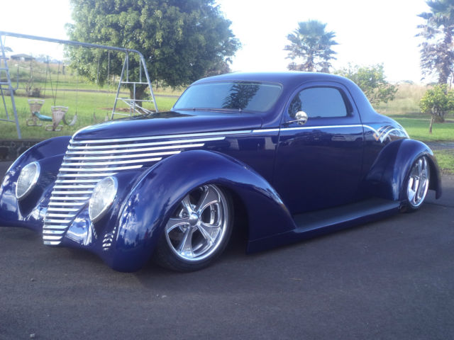 1937 ford 3 window coupe oze wildrod pro touring