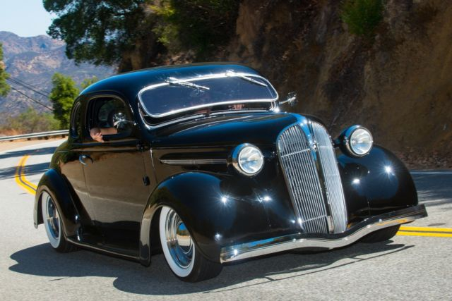 1937 Plymouth Coupe Resto Mod 5 Window Hot Rod