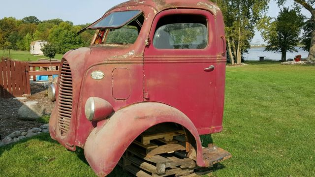 1938 Ford Coe Cab Over Truck Very Rare 95 Hp Split Flip Up