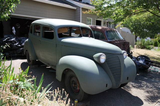 1938 Hudson 112 Chevy Dodge Desoto Ford Project Car