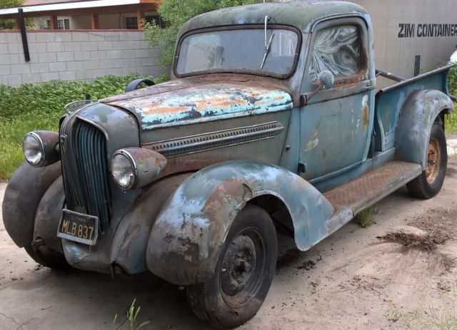 1938 Plymouth Pick Up Truck Project Pt 57 Model