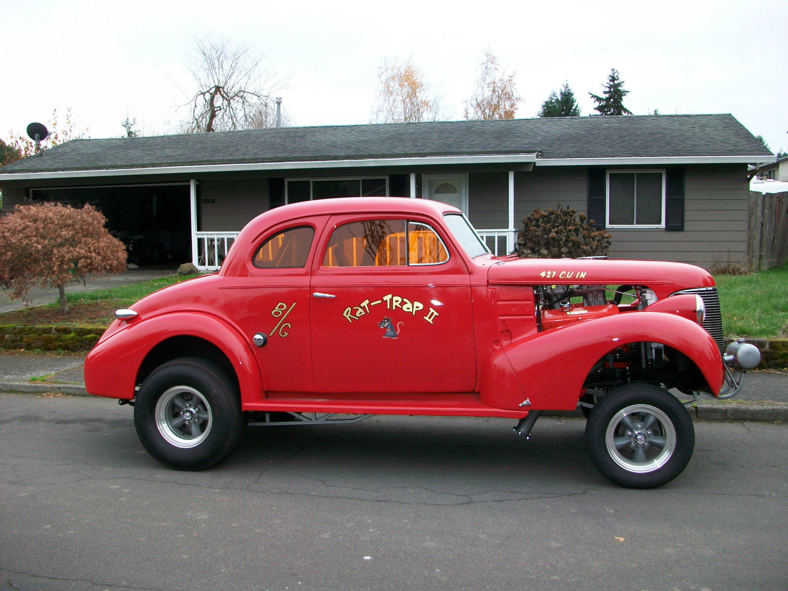1939 Chevy Coupe Project For Sale