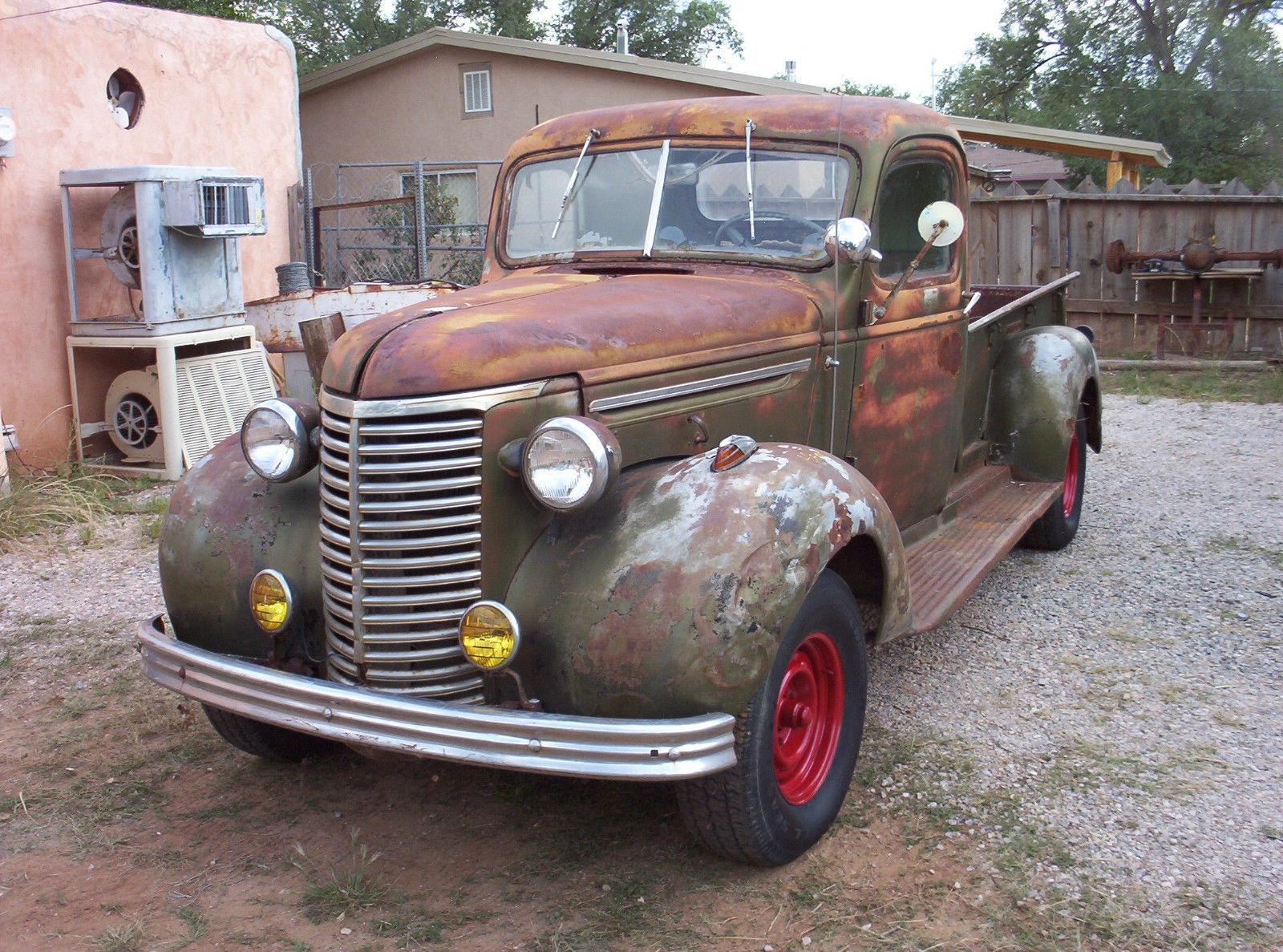 Hot Rod Barn : Chevy pickup rat rod hot barn find patina