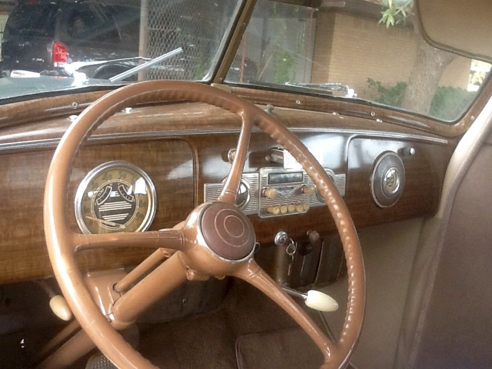1939 Hudson Wood Grain Dashboard Www Imagenesmi Com