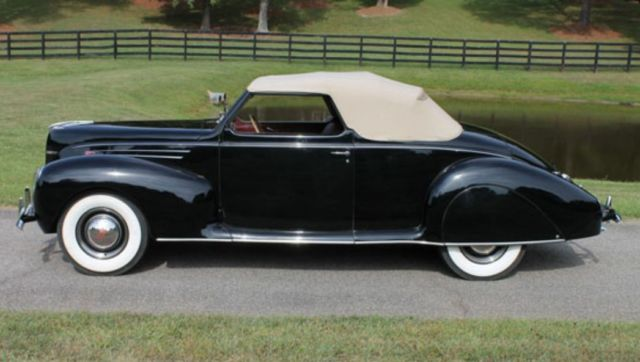 1939 Lincoln Zephyr Convertible Coupe 32 33 34 36 37 38 40