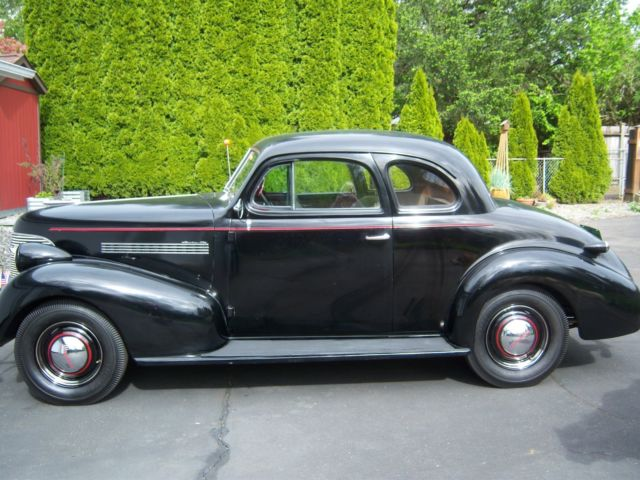 1939 master 85 chevrolet 2 door business coupe for 1939 chevy 2 door sedan for sale
