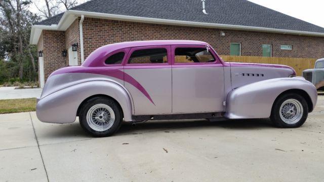 1939 oldsmobile 4 door sedan chopped suicide doors hot