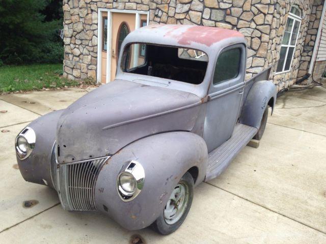 1940 1941 ford pickup truck hot rod project. Black Bedroom Furniture Sets. Home Design Ideas