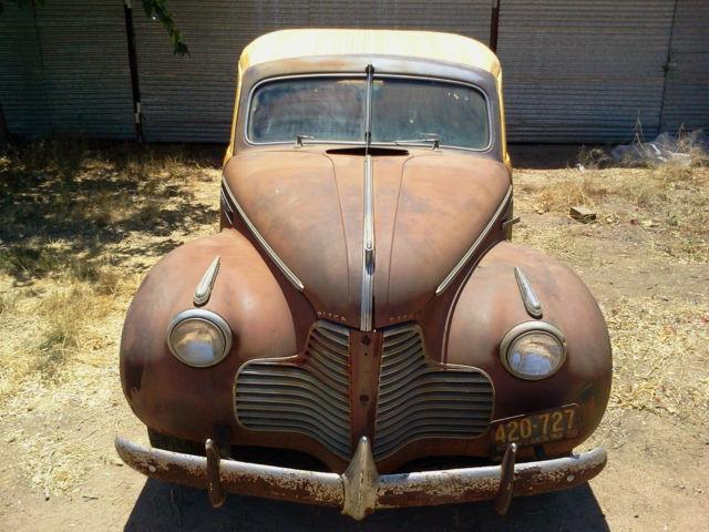 1940 Buick Woody Woodie Estate Wagon