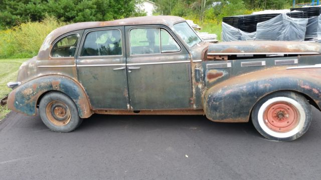 1940 Cadillac Lasalle Hot Rod Rat Rod Solid Roller