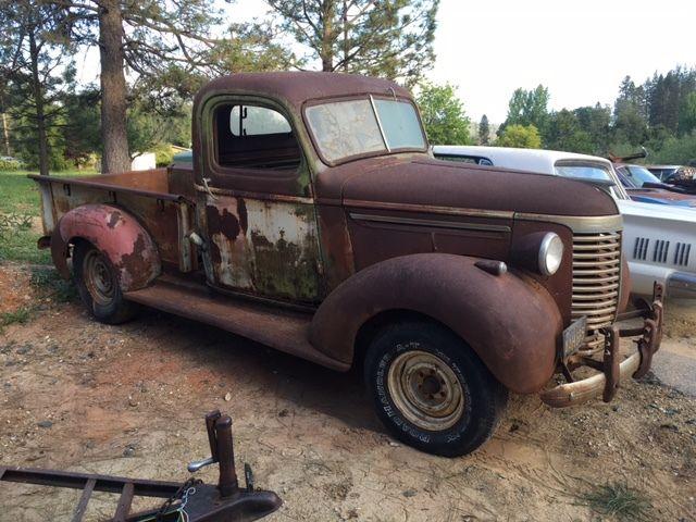 1940 chevrolet truck pickup 1 owner ratrod patina. Black Bedroom Furniture Sets. Home Design Ideas