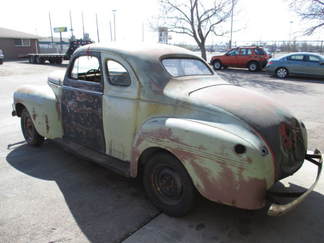 1940 Dodge 2dr Coupe Great Project Rat Hot Strret Rod