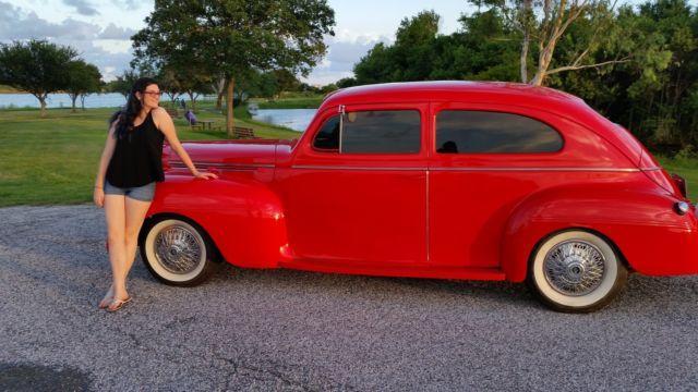 1940 dodge 2dr sedan cruiser viper red for 1940 dodge 2 door sedan