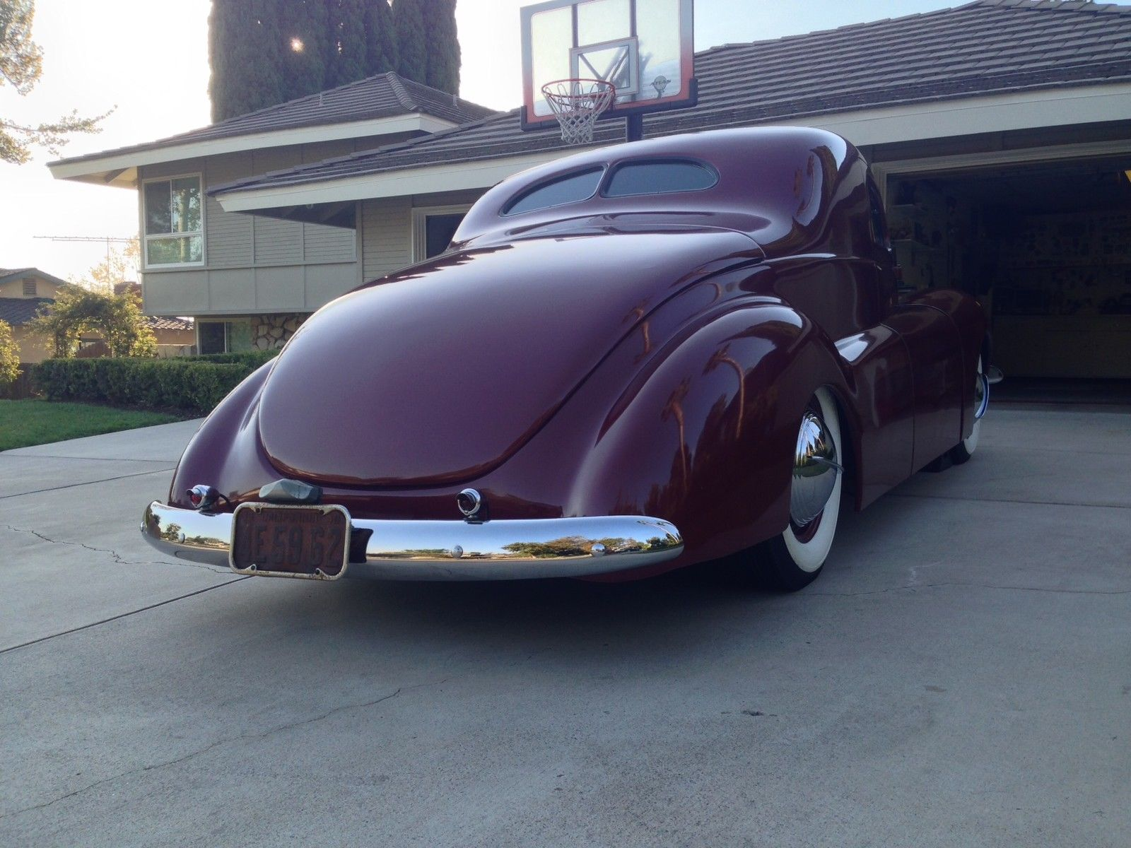 1940 Ford Coupe Early So Cal Custom Car Built In 1943 The Bob 1957 Chevy Bel.  Ford Fuse Box Location ...