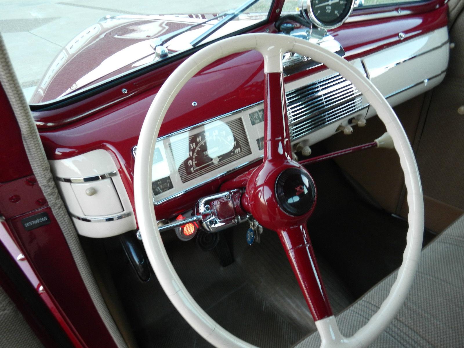 1940 Ford Custom Coupe Street Rod Flathead Custom Interior All Steel Look