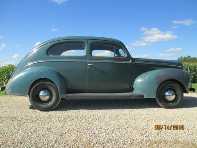 1940 Ford Deluxe 2 Door Sedan Original Scta Nice Car
