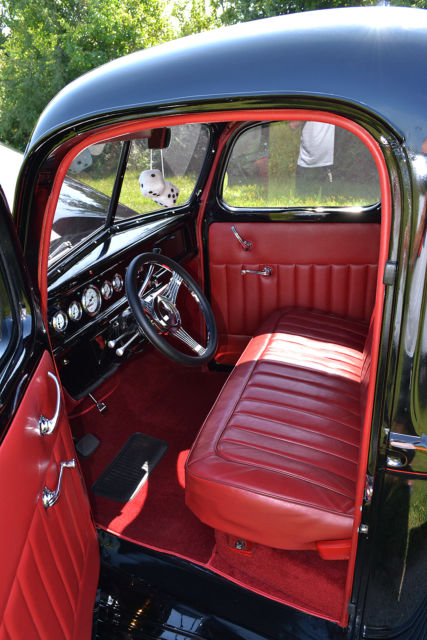 1940 Ford Pickup, Jet Black, NEW GM 350 Crate engine ...