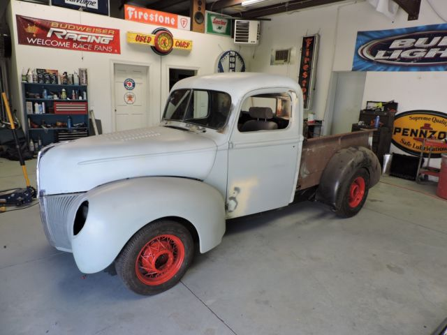 1940 ford pickup street rod project better than coupe or sedan pro street race. Black Bedroom Furniture Sets. Home Design Ideas