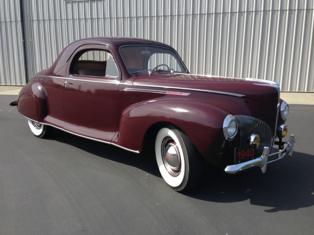1940 Lincoln Zephyr V12 3 Window Coupe