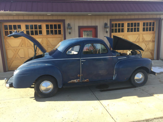 1940 plymouth two door business coupe barn find all for 1940 plymouth 2 door sedan