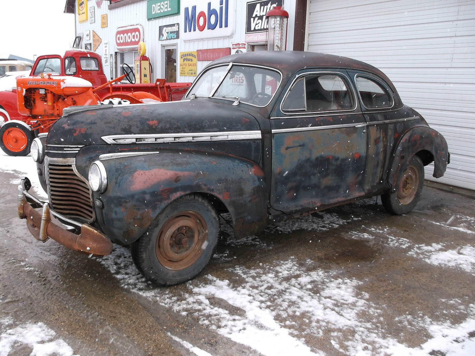 1941 Chevrolet Special Deluxe Coupe 2 Door Great Project Car Or Rat Rod 1956 International Pickup Wiring Diagram