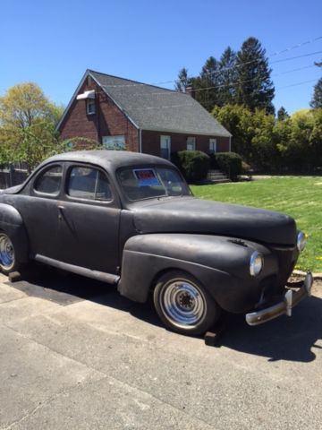 1941 ford business coupe barn find hot rod rat rod project classic gasser. Black Bedroom Furniture Sets. Home Design Ideas