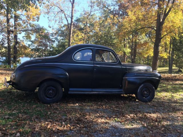 1941 ford coupe solid car runs and drives rat rod hot rod project. Black Bedroom Furniture Sets. Home Design Ideas