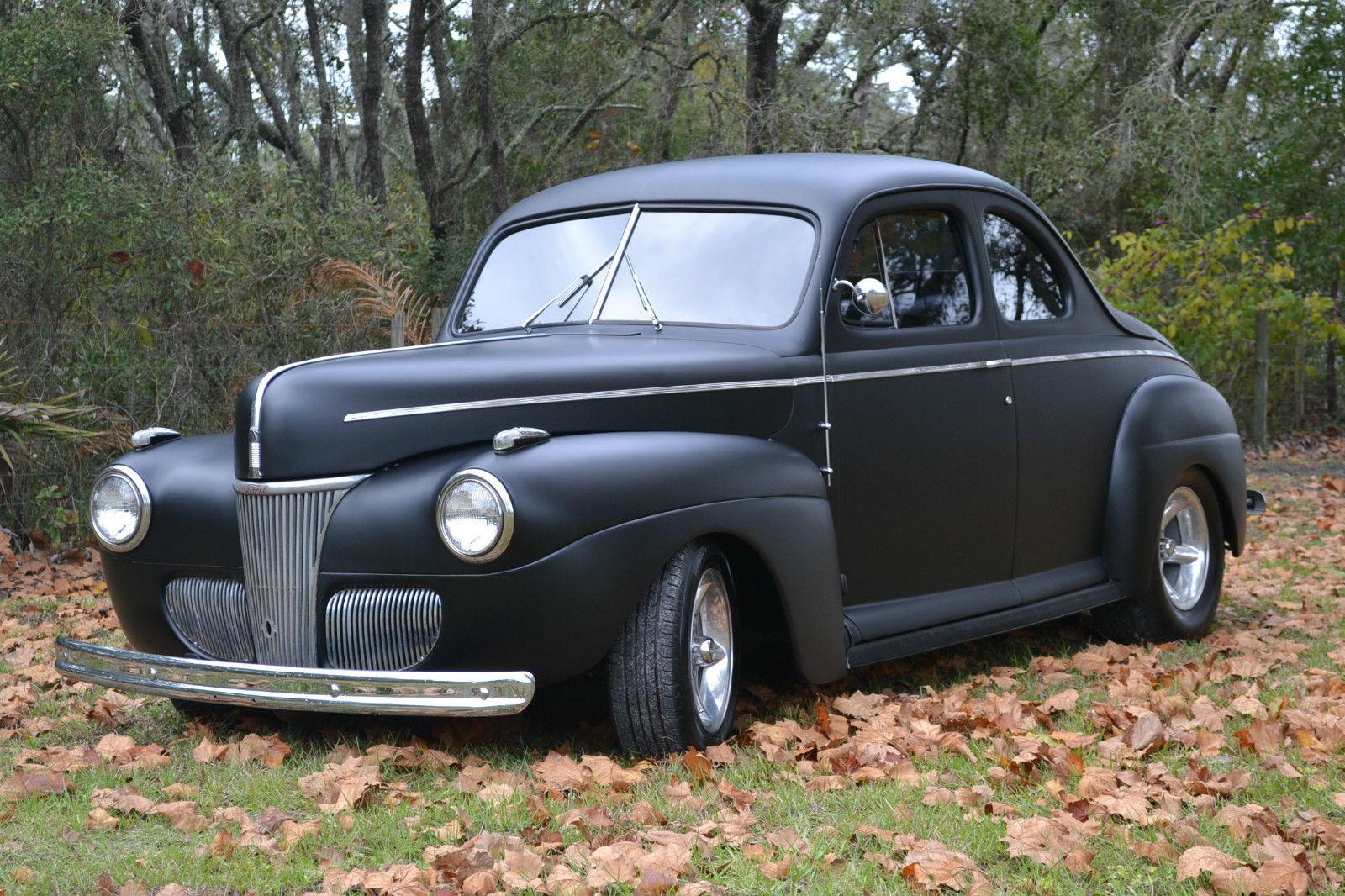1941 ford coupe streetrod hotrod. Black Bedroom Furniture Sets. Home Design Ideas