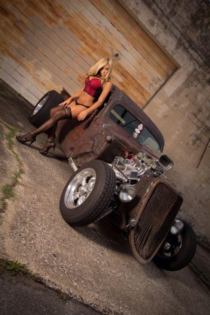 1941 Ford Pickup Chopped Hot Rod Rat Rod Street Rod