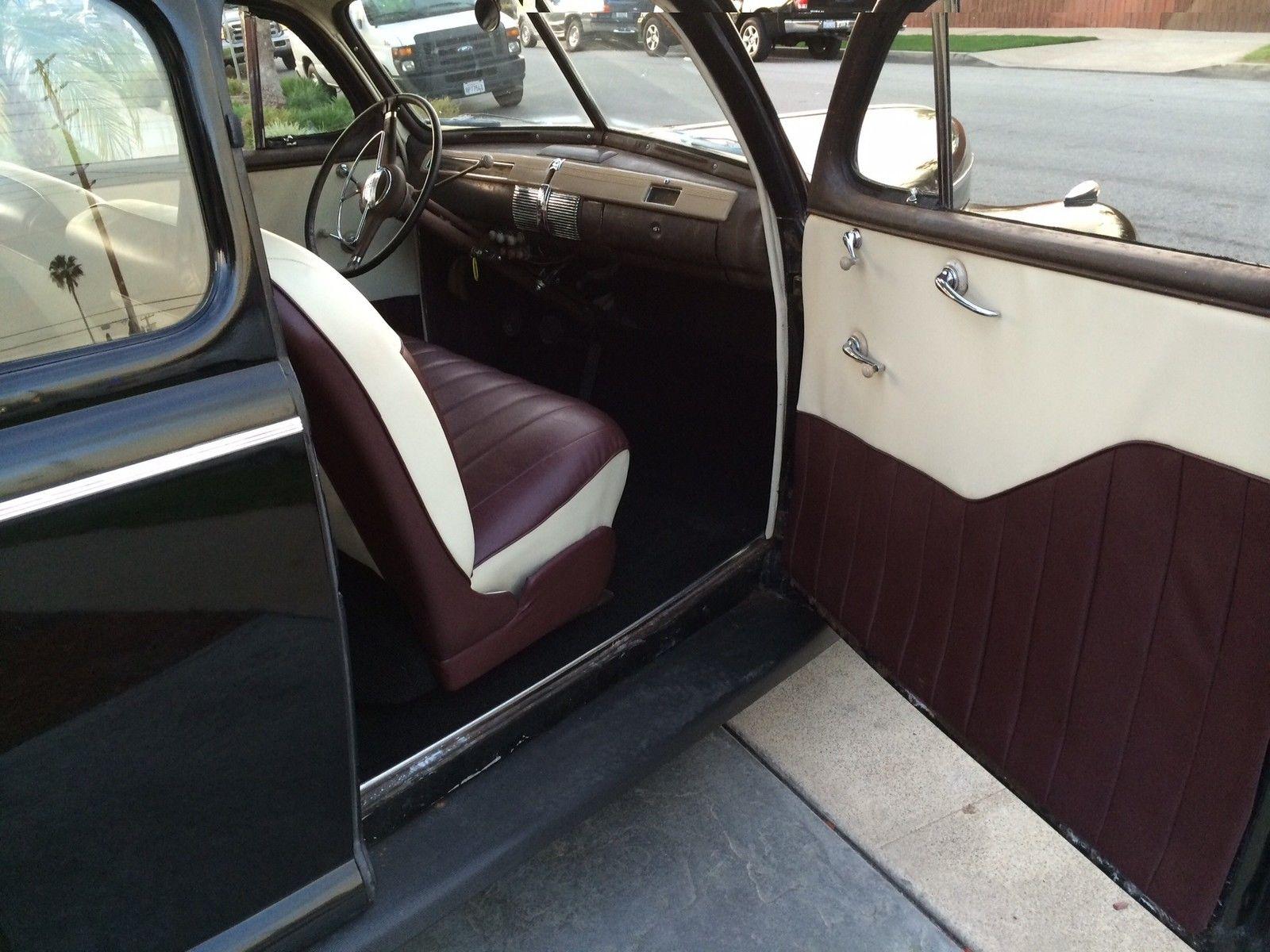 1941 Ford Sedan Survivor Hot Rod Classic 1936 1939 1940 1949 1932 Vin Location 1934 1929 1950