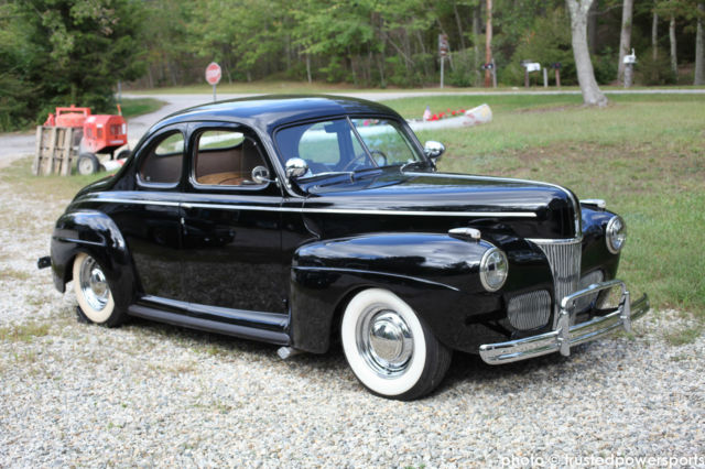 1941 ford super deluxe coupe 43k original miles museum quality 239 flathead v8. Black Bedroom Furniture Sets. Home Design Ideas