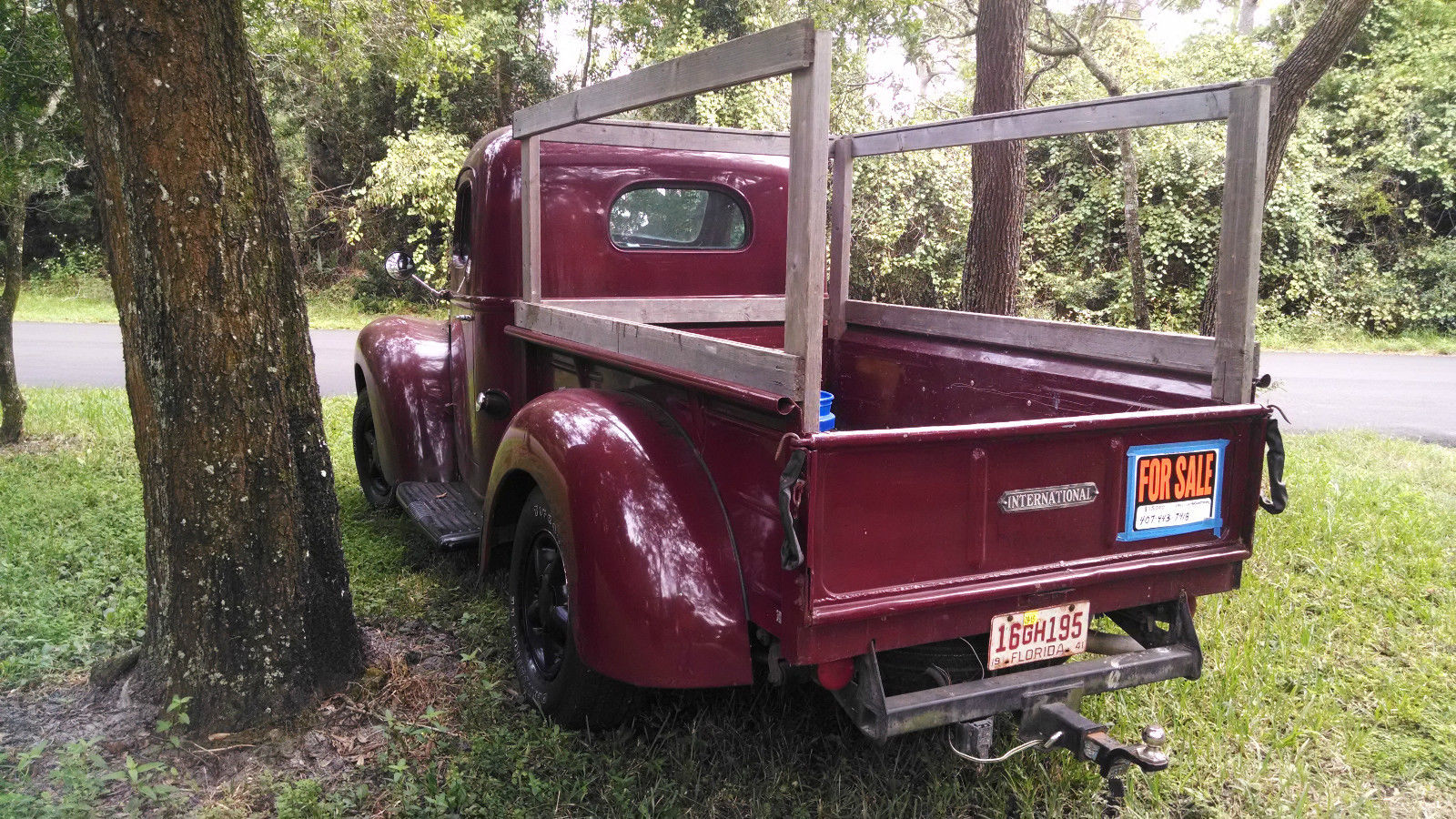 1941 International Kb 1 Pick Up On A 1998 Chassis And Drive Train Mercury