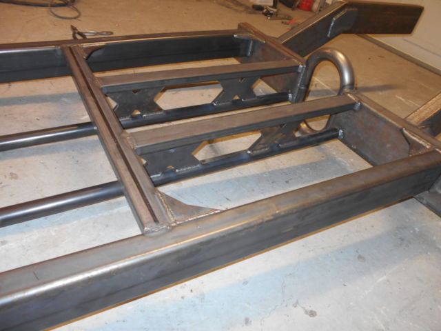 1941 Willys Project New Fiberglass Body On New Tube