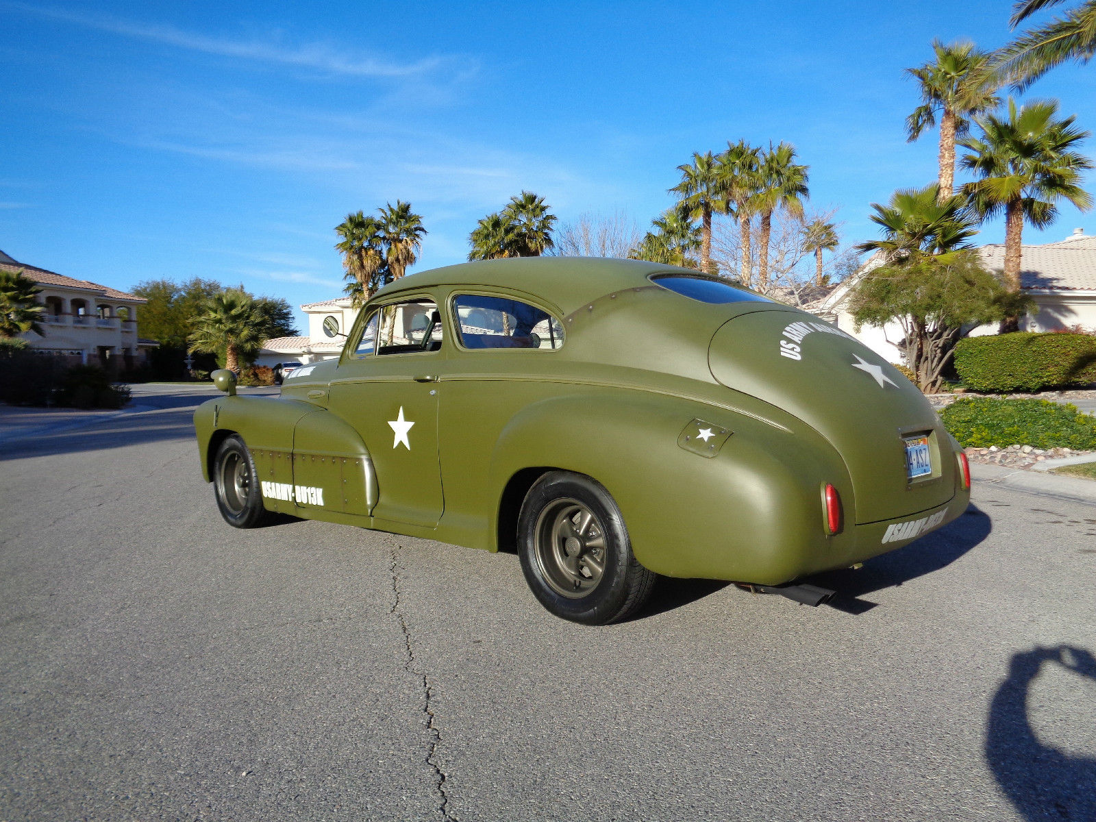 Army Vehicles For Sale >> 1942 Buick Coupe Hot Rod Army/Air Force Style