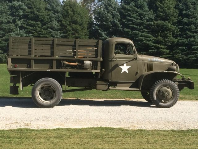 1942 Chevrolet G506 (G7117 Cargo with winch) WW2 Military ...