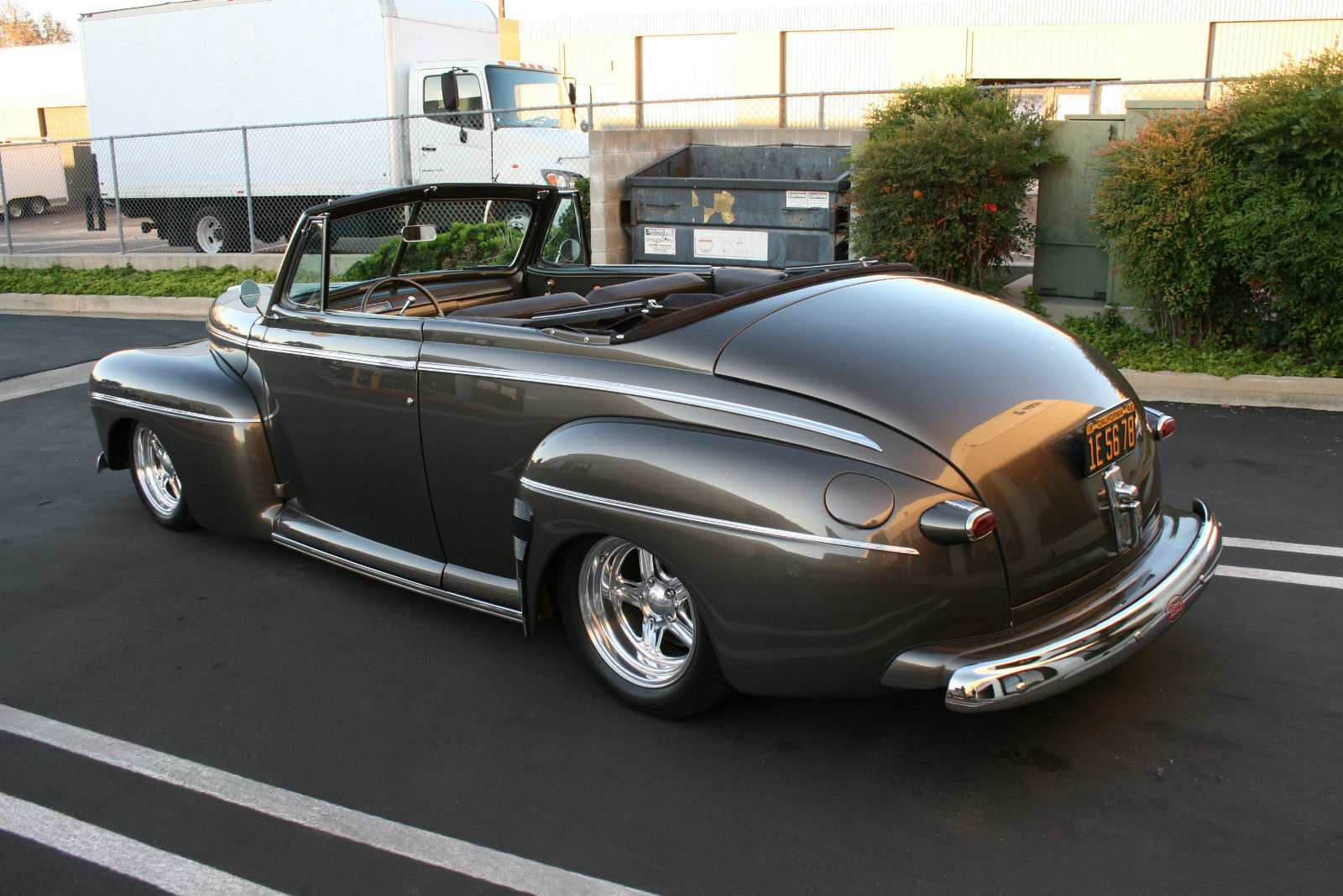 1942 Ford Deluxe Convertible Street Rod 1940 1941 1946 1947 1948 1932 Coupe