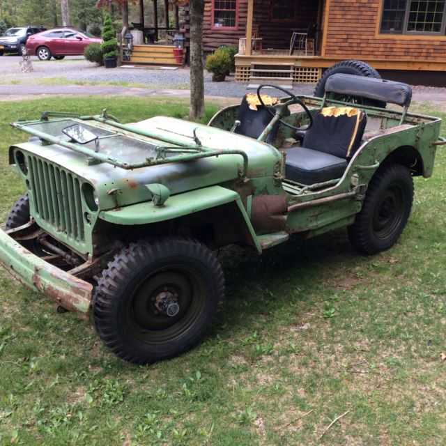Used Jeeps For Sale In Ny: 1942 Ford GPW SCRIPT Military Army Jeep Willys MB