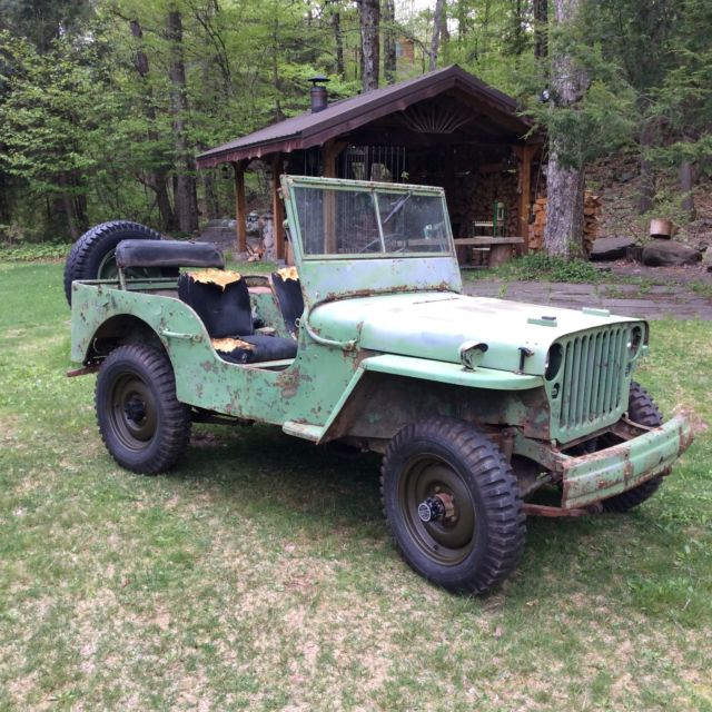 1942 Ford GPW SCRIPT Military Army Jeep Willys MB