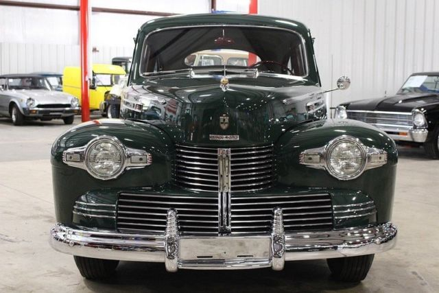 1942 Lincoln Zephyr 51405 Miles Lincoln Andover Green