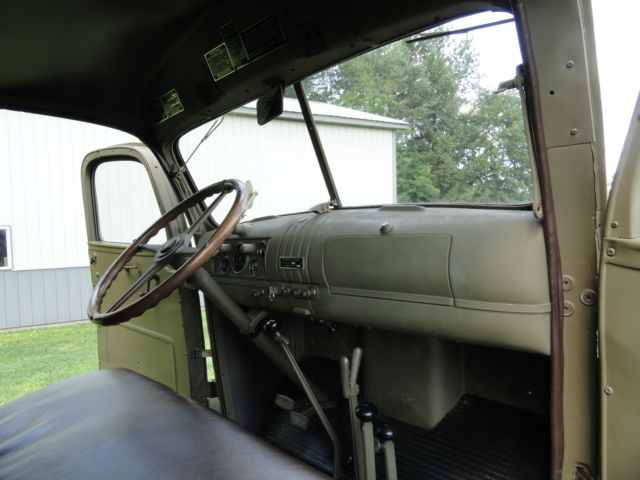 1942 WWII G506 Chevy Cargo Truck with Winch Air Transportable