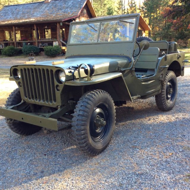 Used Jeeps For Sale In Ny: 1944 WILLYS MB Military Jeep GPW