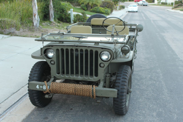 1944 Willys Mb Ww2 Jeep Wwii Restored Not Ford Gpw 1941 1942 1943 1945