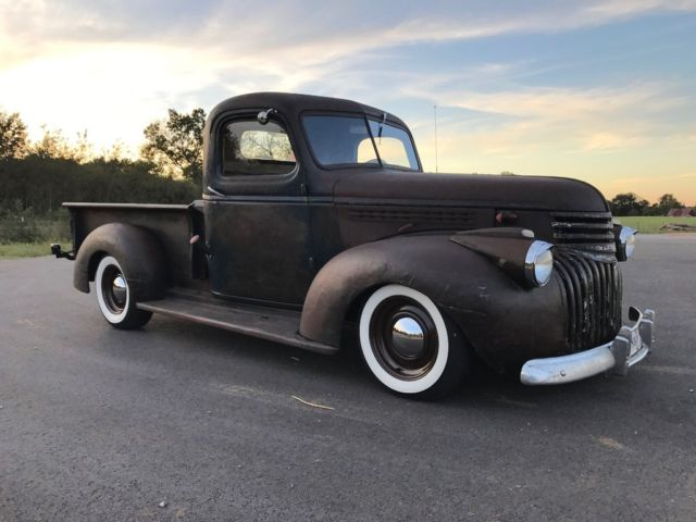 1945 Chevrolet Truck Ls1 Rat Rod Patina Hot Rod Pickup C10