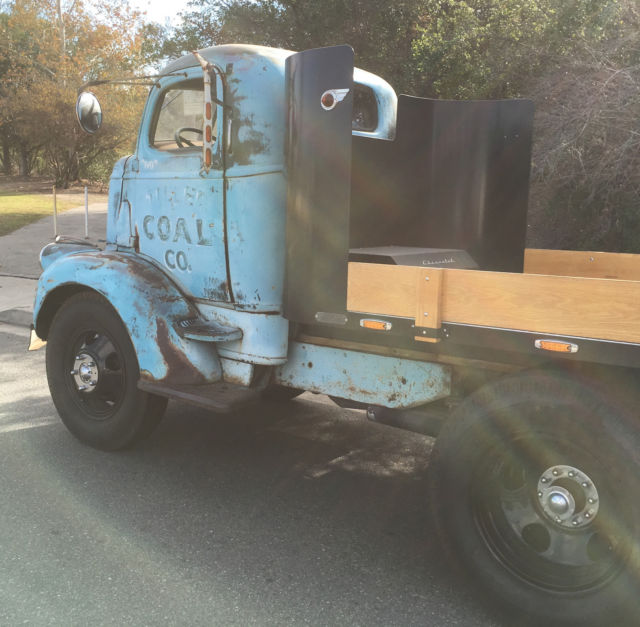 Chevy 350 Engine With Transmission For Sale: 1946 Chevrolet COE Cab Over Engine 350 V8 Automatic Custom