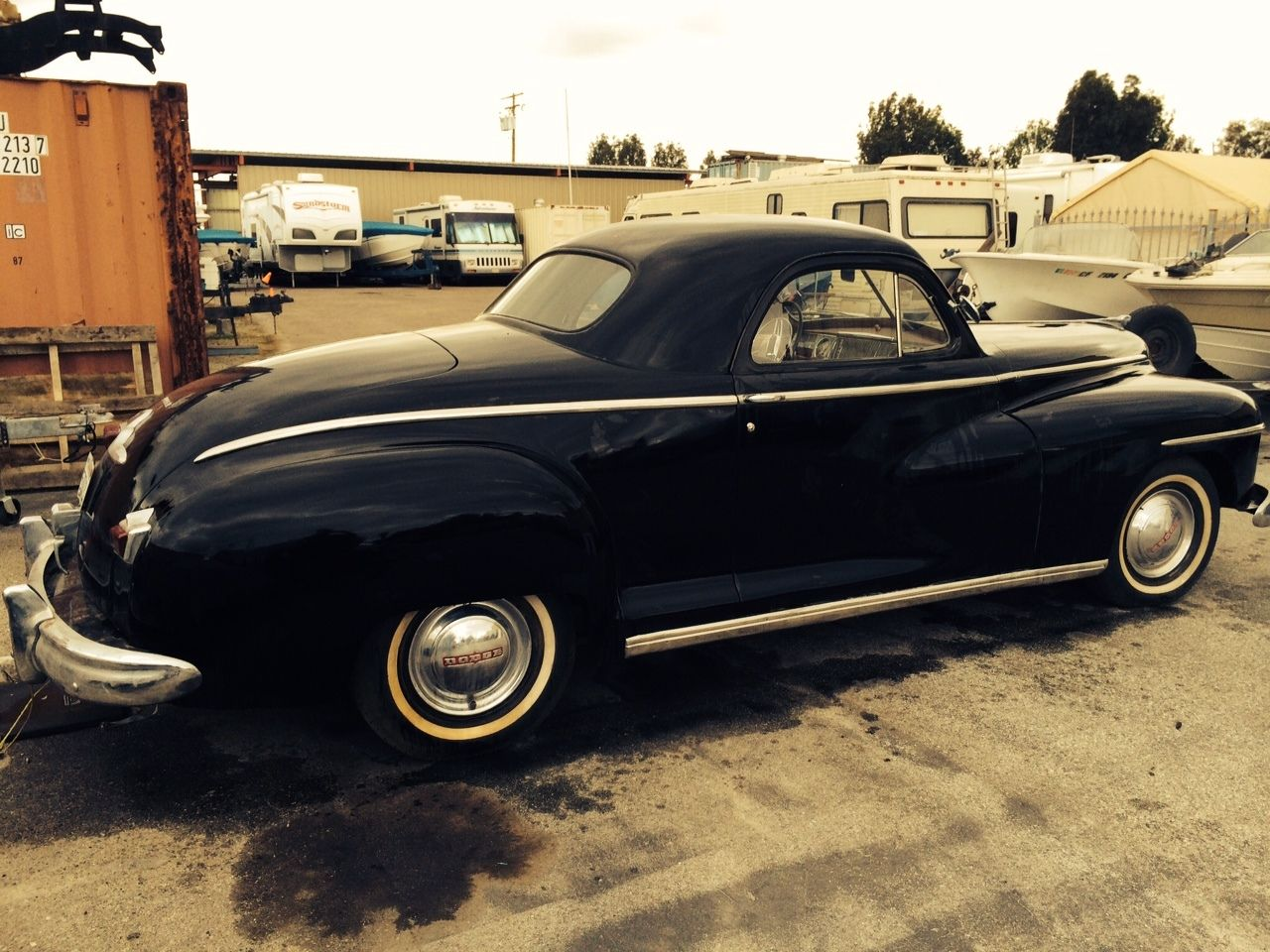 1946 Dodge Business Coupe Very Good Original Condition Three