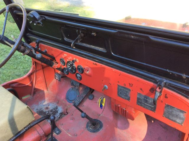 Willys Jeep For Sale >> 1946 Jeep Willys CJ2A RARE column shift welder pto